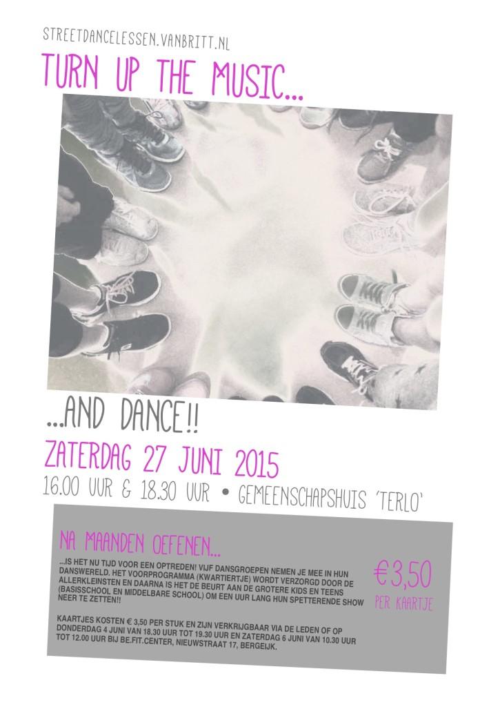 Dansshow - Poster versie 1